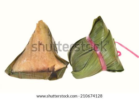Chinese Rice Dumpling - stock photo