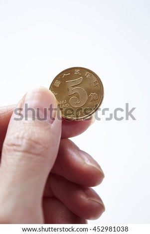 Chinese RMB coin