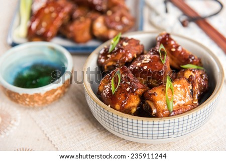 Chinese Sweet and Sour Pork Ribs - stock photo