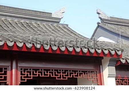 Chinese Traditional Architecture Roof