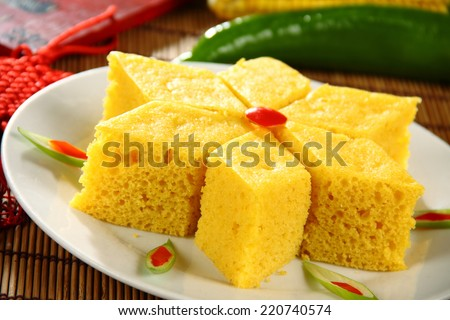 Chinese traditional dishes in Shanxi Province - stock photo