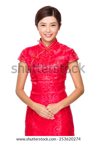 Chinese woman - stock photo
