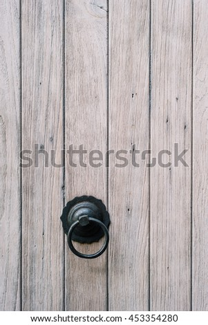 Chinese wood door