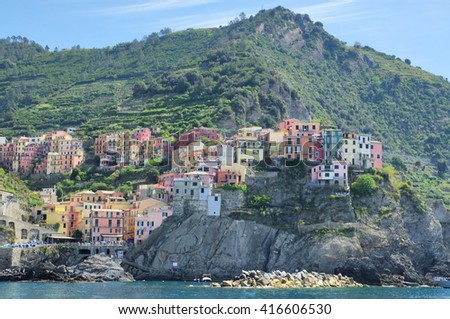 Chinque Terre, Italy - stock photo