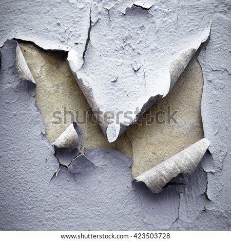 chipped paint background - stock photo