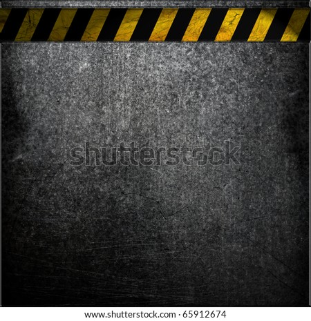 chipped paint on rusty metal surface - stock photo