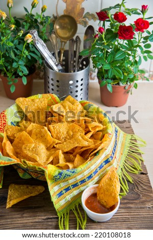 chips snacks - stock photo