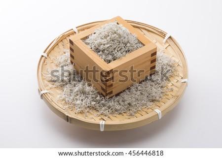 Chirimenjako in the squares - stock photo