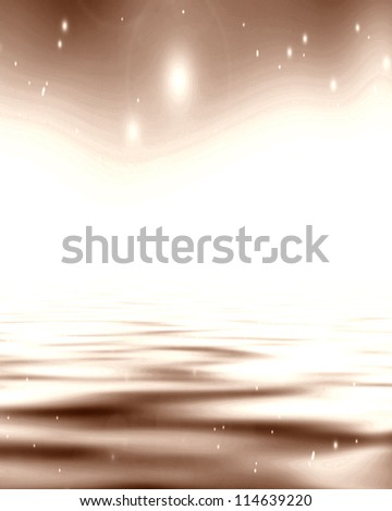 Chocolate background with some soft shade and highlights - stock photo