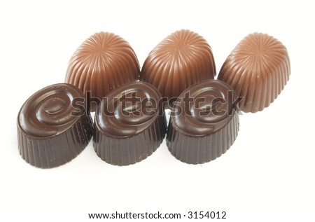 Chocolate bonbon with filling