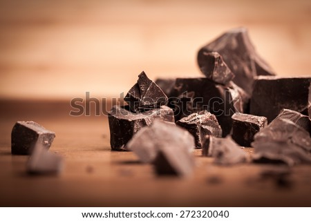 Chocolate, Chocolate Candy, Cocoa. - stock photo