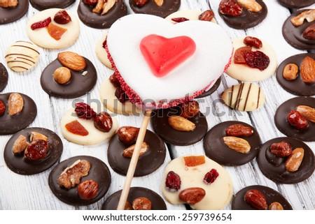 chocolate chocolates - stock photo