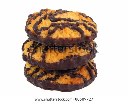 Chocolate Cookies - stock photo