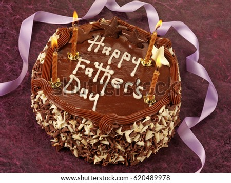 CHOCOLATE FATHER'S DAY CAKE