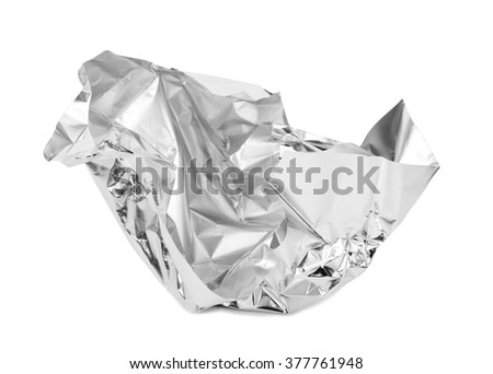 Chocolate foil packaging - stock photo