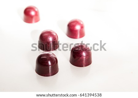 Chocolate French bonbons