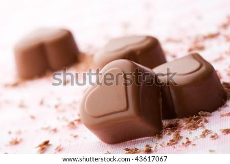 Sôcôla hình quả tim cho Ngày Valentine
