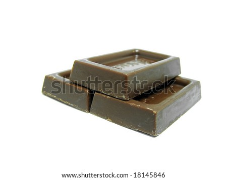 Chocolate isolated