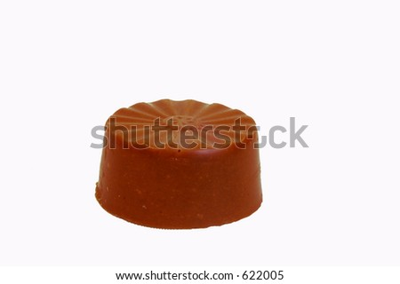 Chocolate praline -round