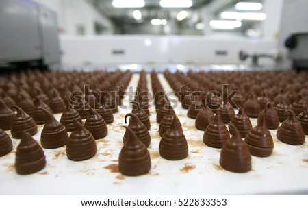 chocolate production factory
