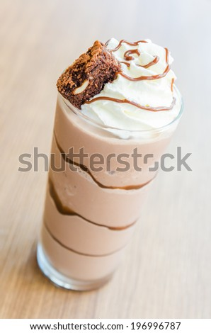 Chocolate smoothies