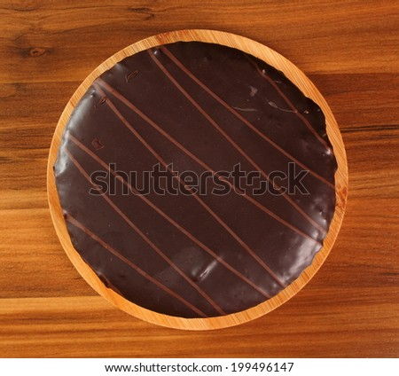 Chocolate Torte with Apricot Jam