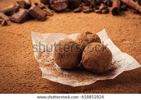 how to make chocolate balls with cocoa powder