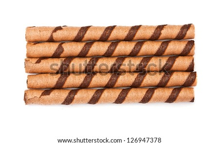 chocolate tubules