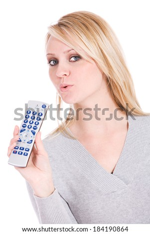 Choices: Woman Is Fastest Remote Control In The West