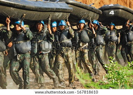 Navy seal stock images royalty free images vectors shutterstock chonburi april 21 2009 navy seal military endurance training in hell week on sciox Choice Image