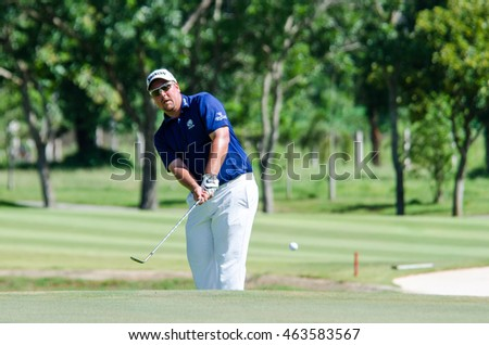 CHONBURI - JULY 31 : Jaco Ahlers of South Africa in King's Cup 2016 at Phoenix Gold Golf & Country Club Pattaya on July 31, 2016 in Chonburi, Thailand.