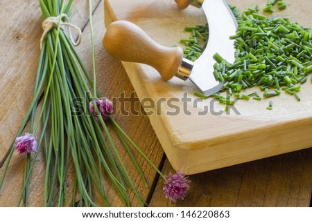Chopped Herbs - Chives