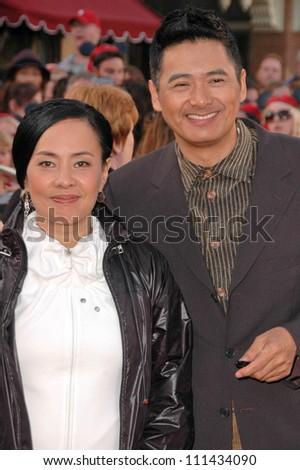 Чоу юнь фат с женой