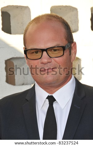 "Chris Bauer at the Los Angeles premiere of the fourth season of HBO's ""True Blood"" at the Cinerama Dome, Hollywood. June 21, 2011  Los Angeles, CA Picture: Paul Smith / Featureflash - stock photo"