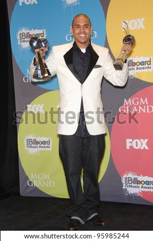 CHRIS BROWN at the 2006 Billboard Music Awards at the MGM Grand, Las Vegas. December 4, 2006  Las Vegas, NV Picture: Paul Smith / Featureflash