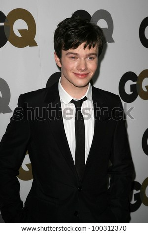 "Chris Colfer at the GQ 2010 ""Men Of The Year"" Party, Chateau Marmont, West Hollywood, CA. 11-17-10"