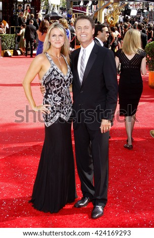 Chris Harrison at the 60th Primetime Emmy Awards held at the Nokia Theater in Los Angeles, USA on September 21, 2008.