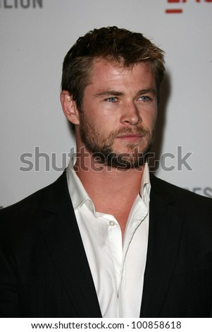 "Chris Hemsworth at LACMA presents ""The Unmasking,"" LACMA< Los Angeles, CA. 09-25-10"