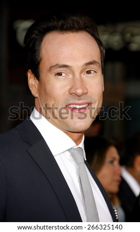 Chris Klein at the Los Angeles premiere of 'American Reunion' held at the Grauman's Chinese Theater in Hollywood on March 19, 2012.