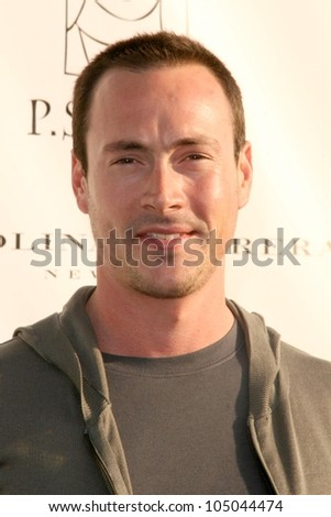 Chris Klein at the 14th Annual Los Angeles Antiques Show Benefitting P.S. Arts. Barker Hanger, Santa Monica, CA. 04-22-09