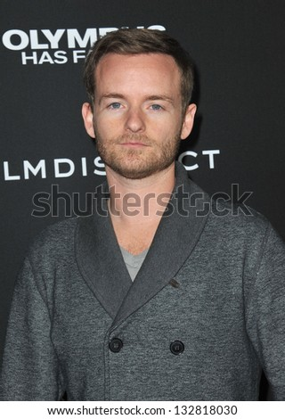 "Chris Masterson at the Los Angeles premiere of ""Olympus Has Fallen"" at the Cinerama Dome, Hollywood. March 18, 2013  Los Angeles, CA Picture: Paul Smith - stock photo"