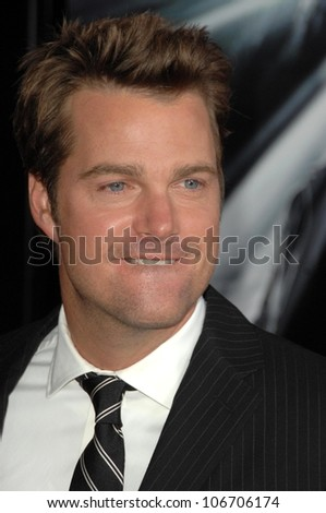 Chris O'Donnell  at the Los Angeles Premiere of 'Max Payne'. Grauman's Chinese Theatre, Hollywood, CA. 10-13-08