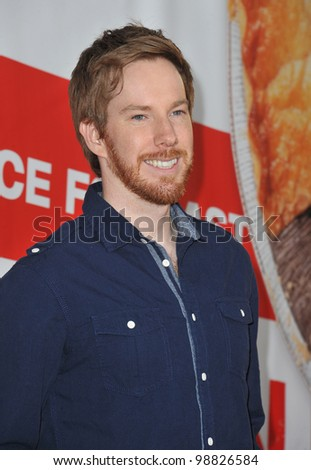 "Chris Owen at the US premiere of ""American Reunion"" at Grauman's Chinese Theatre, Hollywood. March 19, 2012  Los Angeles, CA Picture: Paul Smith / Featureflash - stock photo"