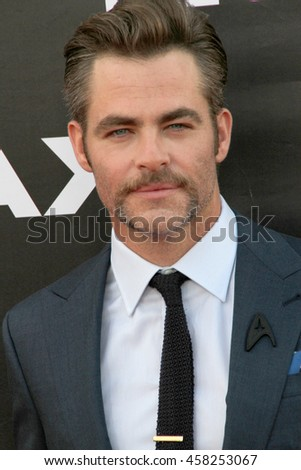 Chris Pine attend at the Star TreK Beyond  premiere during Comic Con on July 20, 2016 at the Embarcadero Marina Park South in San Diego, CA.