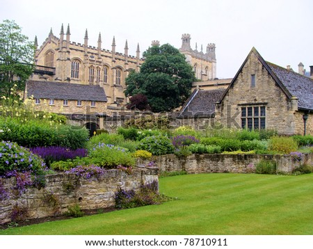 Christ Church War Memorial Gardens, Oxford, England