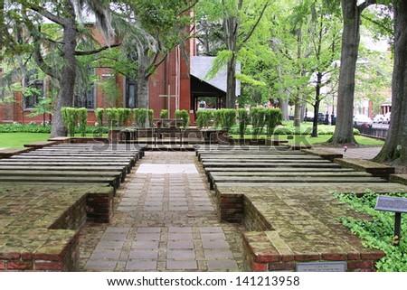 Christ Episcopal Church - stock photo