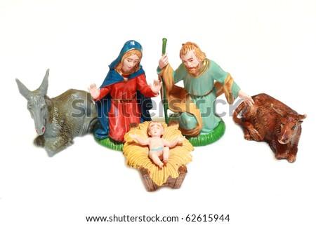 Christ's nativity - stock photo