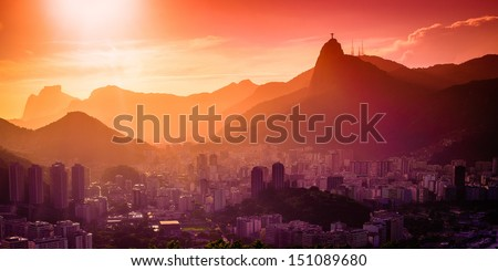 Christ The Redeemer - stock photo