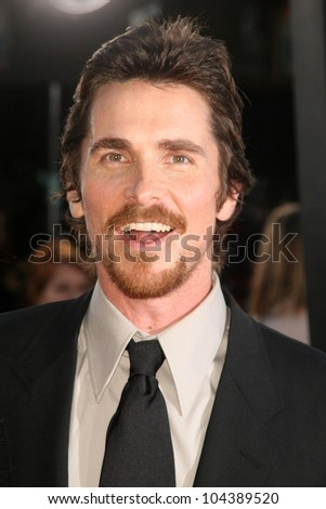 Christian Bale at the Los Angeles Premiere of 'Public Enemies'. Mann Village, Westwood, CA. 06-23-09