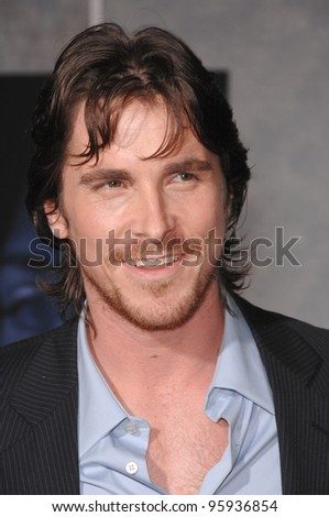 "CHRISTIAN BALE at the world premiere, in Hollywood, of his new movie ""The Prestige"". October 17, 2006  Los Angeles, CA Picture: Paul Smith / Featureflash"